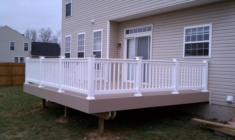 Are you on the fence one house one couple 16x16 deck material list